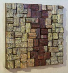 Recycling Wood Art.