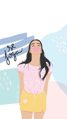 Tumblr Wallpaper, Wallpaper Quotes, Wallpaper Backgrounds, Iphone Wallpaper, Girl Dancing, Swing Dancing, Dope Art, Cellphone Wallpaper, Cute Illustration