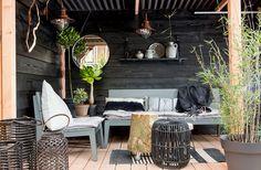 lounge loungeset Scandinavische tuin, tuinset, tuin