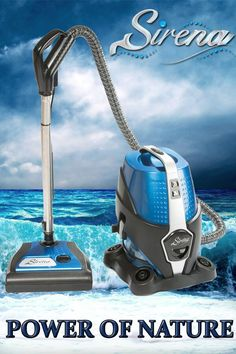 Discover the power of water #vacuum cleaners with Sirena! Free Shipping. Starting from $389!