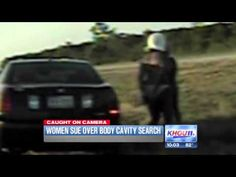 """1984...WOW...the American police state is out of control...2 women in bikinis given body cavity searches on the side of Highway - """"..."""