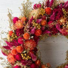 Terrain Carmine Garden Wreath #shopterrain