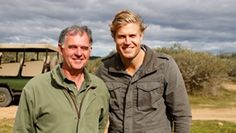 Dr Chris Brown is going on a safari in South Africa.