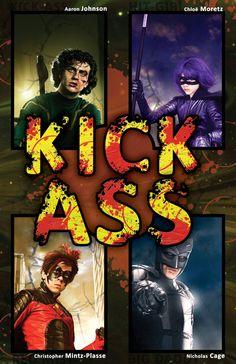 Movie Friday: 14 Alternative 'Kick-Ass' Movie Posters #kickass #kickass2