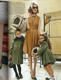 Help! These are not my children! (this has actually happened to me b4) Vogue Greece