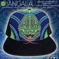 Jangala Crown 215 Reptilian on Etsy, $230.00