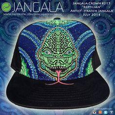 Jangala Crown 215 Reptilian on Etsy, $230.00