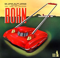 Bohn advertisement, illustration: Arthur Radebaugh