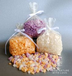 How to Make Gem Stone Bath Salts | Video Tutorial