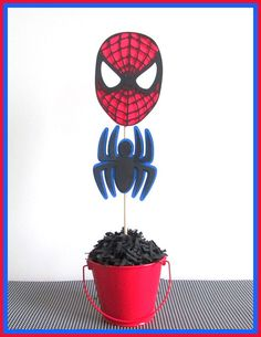 Spiderman Party Decorations  Spiderman by LaLaLissyLou on Etsy
