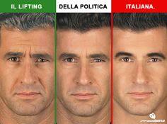 Lifting nella politica italiana #comunicazione politica