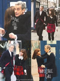 I love that, this time, we're going to have a companion who has to get used to a new Doctor at the same time we do.