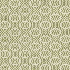 Baltica in Grass from Old World Weavers via Stark #fabric #green #cotton