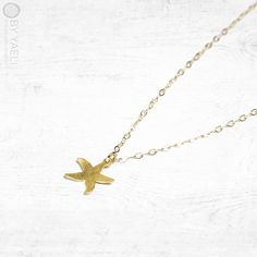 Hey, I found this really awesome Etsy listing at https://www.etsy.com/il-en/listing/271179244/starfish-necklace-gold-starfish-charm