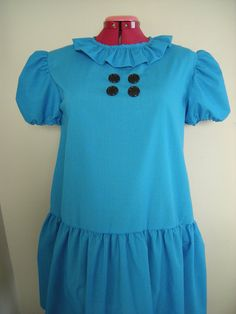 "Lucy Van Pelt Costume Halloween/Birthday/Special occasions/school play ""You're a Good Man Charlie Brown"""