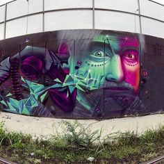 An arresting piece by Artez in Serbia! More at http://globalstreetart.com/artezonline.
