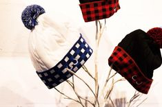 Our handmade, Canadian toques.