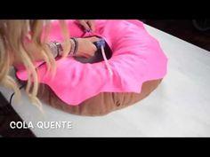 DIY ALMOFADA DONUT - YouTube