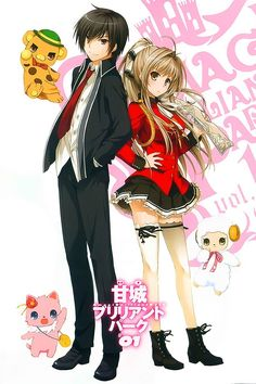 Fall 2014, Amagi Brilliant Park: Glad to see Bonta-kun found new employment. This is from the writer and the full team behind Full Metal Panic! so I have big expectations.