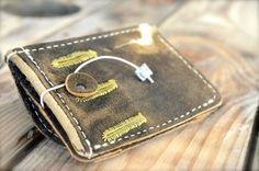 Geldbeutel Portemonnaie - KNEISSL von filzstueck auf DaWanda.com