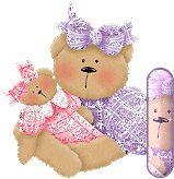 Oh my Alfabetos!: Alfabeto osita con muñeca.