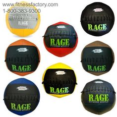 Rage Medicine Balls are essential products for any strength and conditioning program. The medicine ball has a long history and is one of the Four Horsemen of Fitness. The Rage Medicine Ball has proven itself to be the most durable medicine ball on the market. Hand crafted in the US, using heavy-duty 18 oz vinyl and high endurance stitching, this medicine ball has been built to withstand high velocity impacts from wall target and partner throwing exercises.