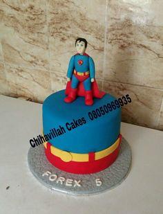 Superman cake by Chihavillah cakes, still working