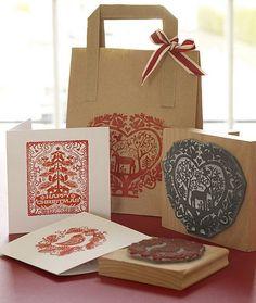 Craft, sellos y cinta! Hermoso