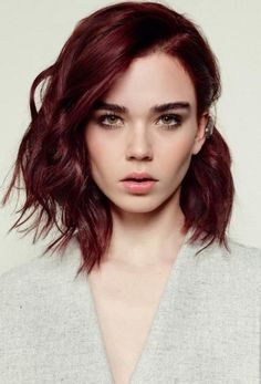 2. 40 Dark Red Hair Color ideas