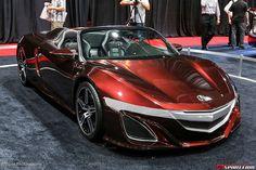 Acura NSX Convertible Concept @ SEMA Show 2012. Tony 'Ironman' Stark's Ride #Acura #Rvinyl