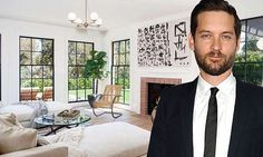 After a break-up, there are half as many people in the relationship, so most people downsize their property. But not Tobey Maguire. The 41-year-old has splashed out $12,995,000