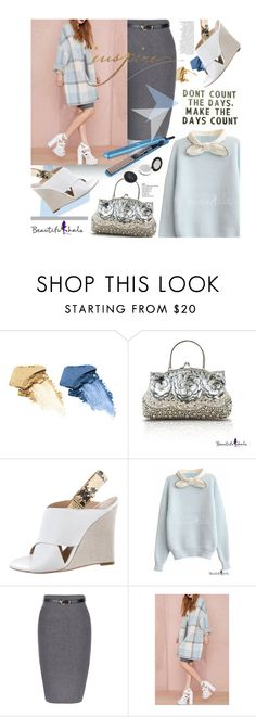 """""""Beautifulhalo.com: Don´t count the days. Make the days count."""" by hamaly ❤ liked on Polyvore featuring мода, Bare Escentuals, CÉLINE, Anja, Revlon, ootd, fallstyle, woolcoat и waystowear"""