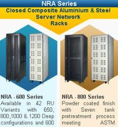 NRA Series - Network Cabinets   http://www.netrackindia.com/nrs-s.php
