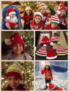 Christmas crochet hat elf hat kids girls boys by EmilyCrochet, $25.00