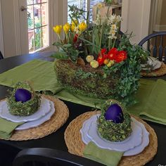 Spring tablescape by One Quaint Zebra