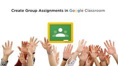 Create Group Assignments in Google Classroom http://www.thegooru.com/create-group-assignments-in-google-classroom/ #gafe #googleedu #edtech