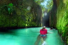 Xcaret Underground Rivers in Cancun Mexico 3-3