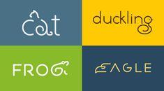 Animal wordmarks by Shibu PG.