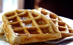 Yum : ) I used zylitol in place of the sweetners, and an extra tsp of coconut milk. GF Almond Maple Waffle