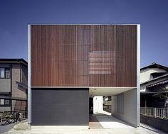 Minimalist home design Private House Design Kasuga House