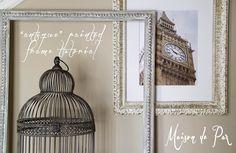 "Maison de Pax: ""Antique"" Frame Tutorial"