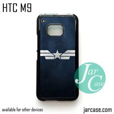 Captain America Shield Suit Phone Case for HTC One M9 case and other HTC Devices