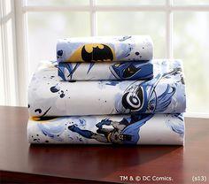 Batman™ Sheeting | Pottery Barn Kids