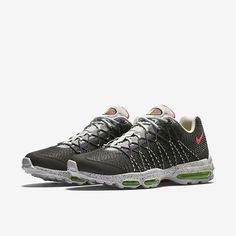 NEW Nike Air Max 95 Ultra Jcrd Night Silver Grey Crimson 749771-006 SZ 11 a82367db3b73