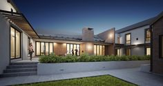 SOUTHDOWNS HOUSE   Urban Habitat Architects Rustic Houses, Geometric Form, Natural Materials, Contemporary, Modern, Architects, House Design, Urban, Mansions