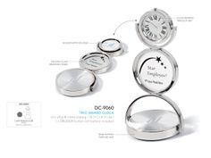Trio Award Clock | Corporate Gifts - Executive Gifts http://www.ignitionmarketing.co.za/corporate-gifts