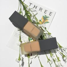3097b4eaeb21 the beauty endeavor: THREE Flawless Ethereal Fluid Foundation 204 & 205:  Review & Swatches