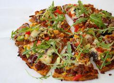 lindastuhaug   Søtpotetpizza - med bunn av søtpotet! - lindastuhaug