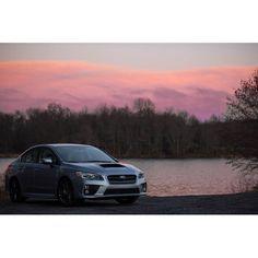 Purple skies. -------------------------------------------------- #subaru #subie #awd #icesilver #nameless #wrx #brz #sti #xv #crosstrek #forester #legacy #outback #photography #2016wrx #fa20dit #turbo #boost #canon #dslr #tuner #cars #carsofinstagram #wrxcty #jdm #stance #subieflow