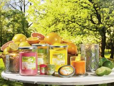 Citrus Passion! Our new limited edition Citrus Passion collection is already creating quite a buzz with its mouthwatering authentic fragrances! And check out the eye-catching metal accessories - just bursting with style!